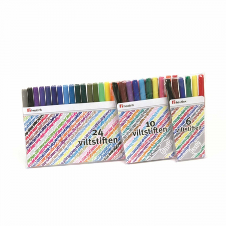 Cariocă subțire 10 culori0