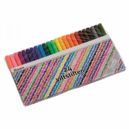 Cariocă subțire 24 culori0