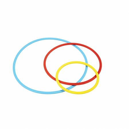 Cercuri de 50 cm - set de 3 bucăți2