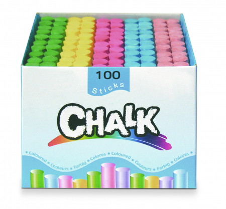 Set de 100 crete colorate rotunde3