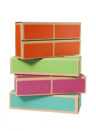 Cărămizi din carton CWR, set de 20 bucăți, multicolor0