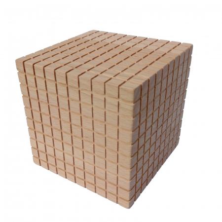 Cub de mii pentru setul de numărare zecimal [0]