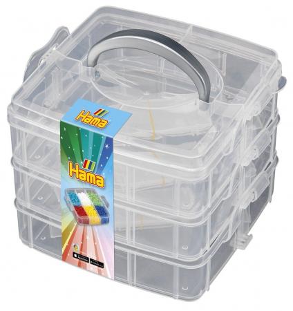 Cutie de depozitare Mărgele de călcat HAMA MIDI mic0