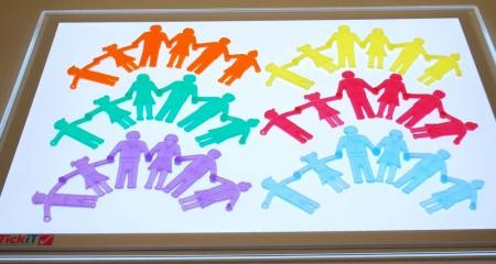 Forme din silicon Familia, TickiT, set de 36 piese, multicolor2