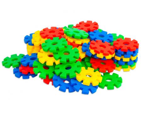 Fulgi de nea mari, Vinco, set de 100 piese, multicolor0