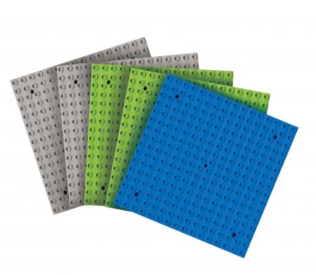 Joc de construcții bază pentru cuburi midi1