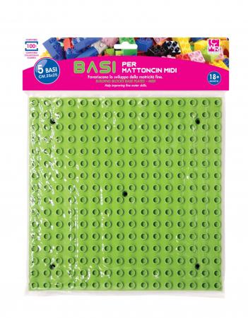 Joc de construcții bază pentru cuburi midi0