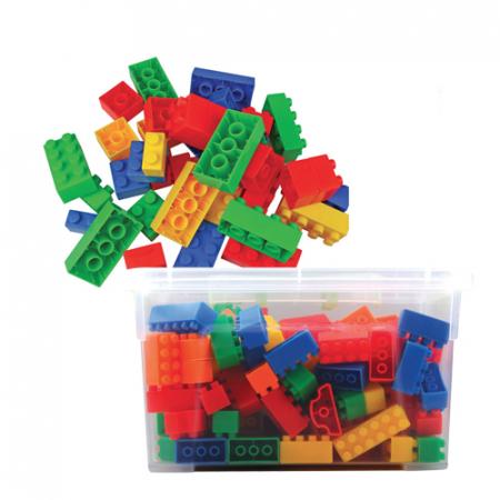 Joc de construcții cuburi atașabile mini1