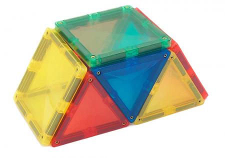 Joc de construcții magnetic Magne Tiles Nexus 100 de piese2