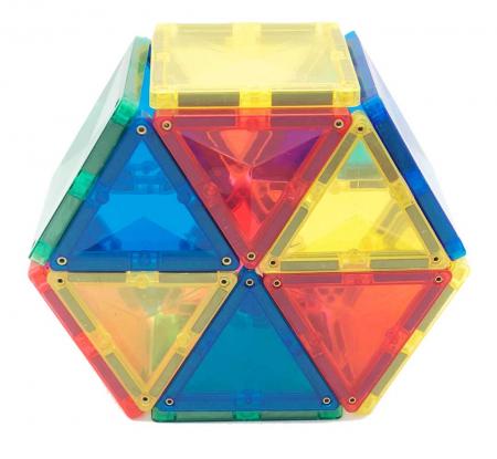 Joc de construcții magnetic Magne Tiles Nexus 100 de piese3