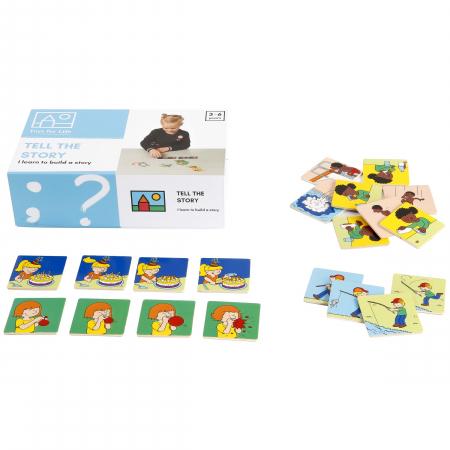 Joc de dezvoltare cognitivă, Spune povestea, joc de serialitate1