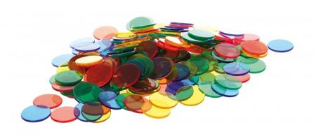 Joc sortare buline transparente, Edx Education, set de 500 bucăți, multicolor0