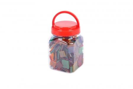 Joc sortare pătrate transparente, Edx Education, set de 300 bucăți3