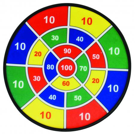 Joc tinta, set 3 ținte matematice cu 9 mingi4