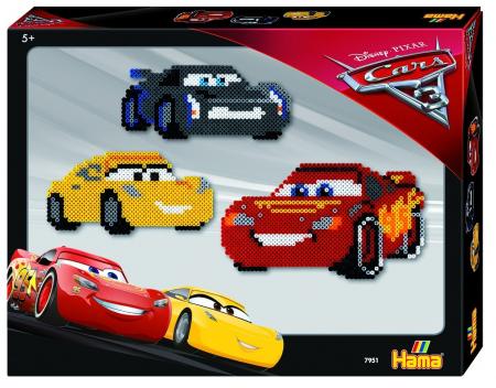 Margele de calcat HAMA MIDI DISNEY CARS 4000 in cutie0
