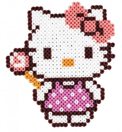 Mărgele de călcat HAMA MIDI Hellor Kitty 4000 în cutie1