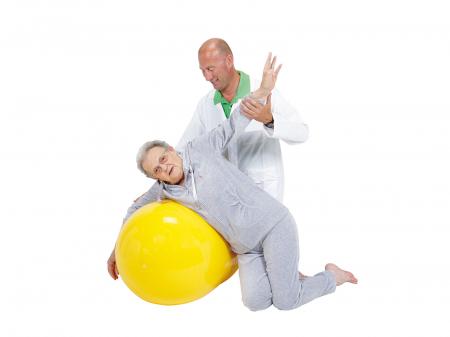 Minge alună fizioterapeutică Physio galbenă-55 [1]