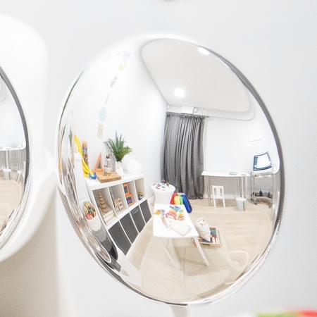 Oglindă acrilică mare cu 9 cupole [1]
