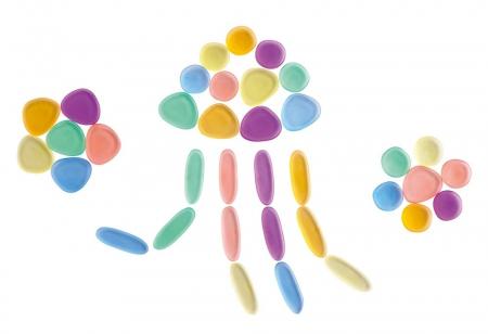 Pietre transparente, Edx Education, set de 36, multicolor2