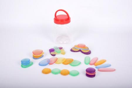 Pietre transparente, Edx Education, set de 36, multicolor0