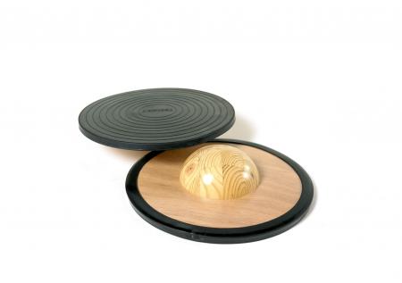 Placă de echilibru cu semisferă0