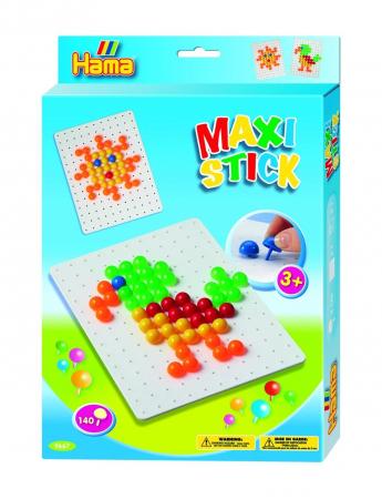 Planseta PATRAT cu 140 tepuse ciuperci MAXI STICK in cutie de cadou0