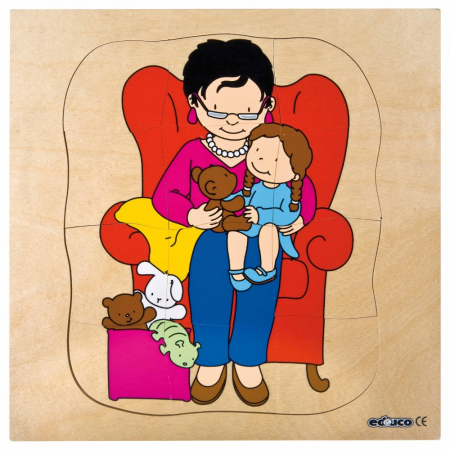Puzzle de creștere bunica [0]