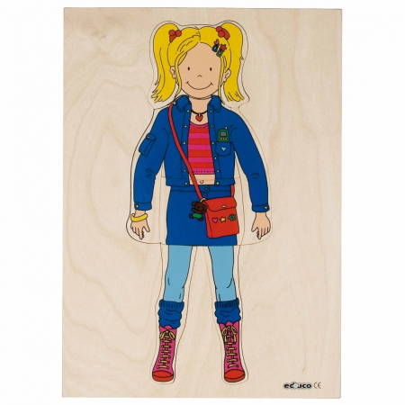 Puzzle îmbrăcare fată0