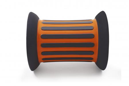 Cilindru echilibru cu nisip ROLLER portocalie0
