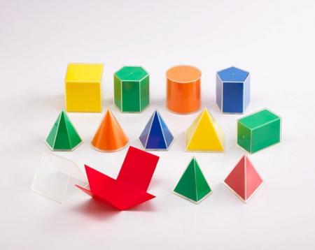 Set de 12 forme geometrice 2D/3D [1]