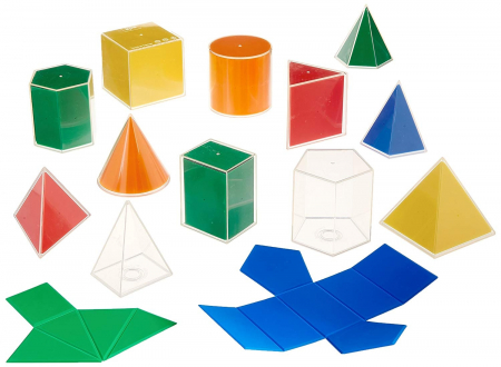 Set de 12 forme geometrice 2D/3D [0]