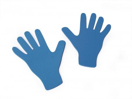 Set de 12 urme de mâni din EVA [0]