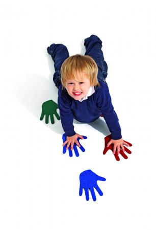 Set de 12 urme de mâni din fetru [1]