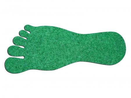 Set de 12 urme de picioare din fetru [0]