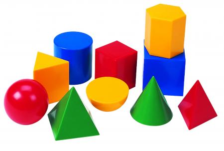 Set de 17 corpuri geometrice mari [0]