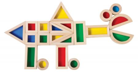 Set de 24 buc cuburi de construcții CURCUBEU0