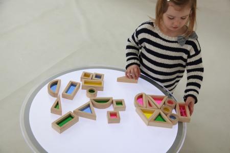 Set de 24 buc cuburi de construcții CURCUBEU11