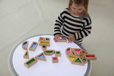 Set de 24 buc cuburi de construcții CURCUBEU12