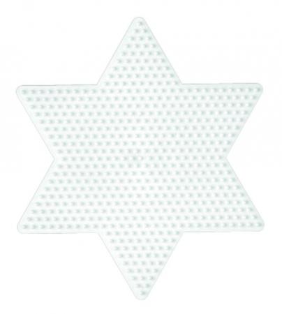 Planșetă pentru mărgele Hama Midi STEA MARE [0]