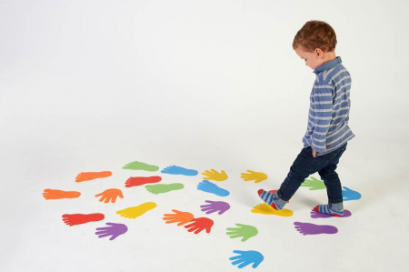 Urme de maini - joc de motricitate2
