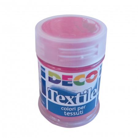 Vopsea roșu trandafir pentru material textil în flacon de 35 ml [0]