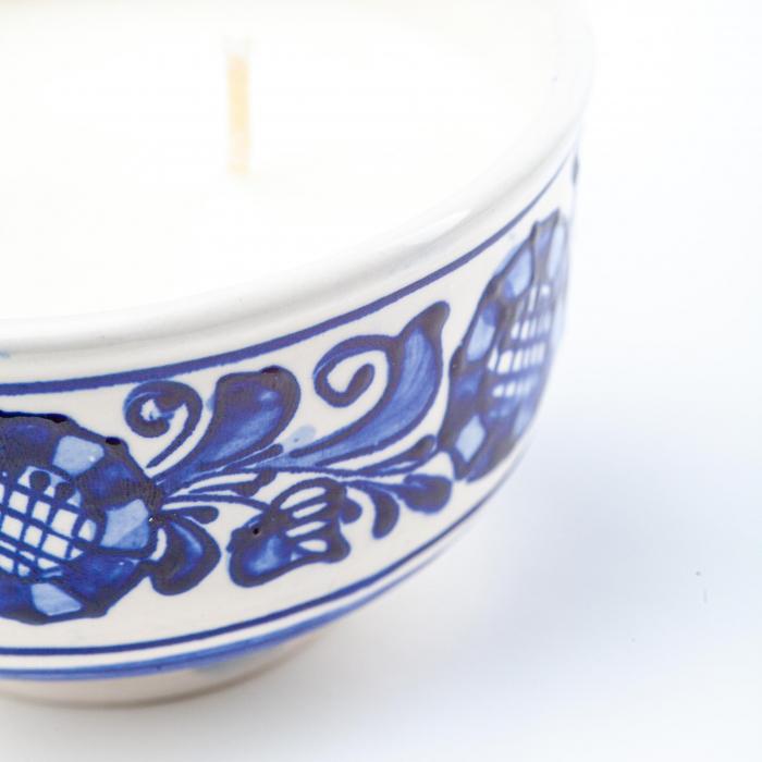 Lumanare din Ceara de Soia si Lavanda - Bol Ceramica 1