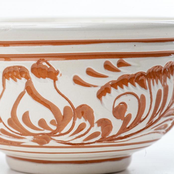 Lumanare din Ceara de Soia si Eucalipt - Bol Ceramica [2]
