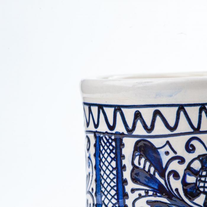 Lumanare din Ceara de Soia si Lavanda - Ceramica Small Size 2