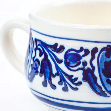 Lumanare din Ceara de Soia si Lavanda - Ceramica King Size [2]