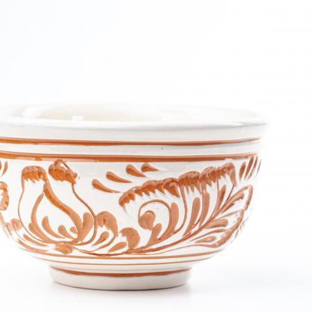 Lumanare din Ceara de Soia si Eucalipt - Bol Ceramica [1]