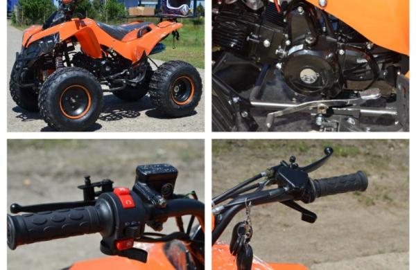 ATV  MODEL:WARRIOR 125CMC #SEMI-AUTOMAT 4
