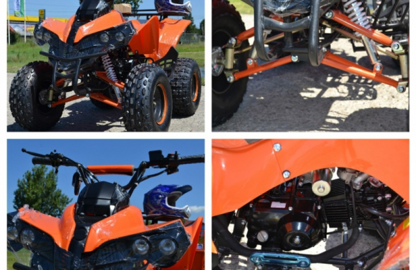 ATV  MODEL:WARRIOR 125CMC #SEMI-AUTOMAT 5