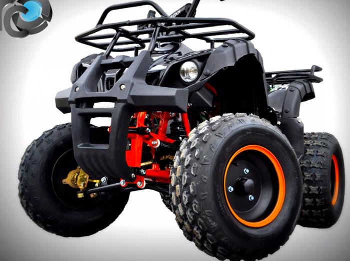 ATV HUMMER ELECTRIC 1000W #ROTI 8 INCH / AUTOMAT 3