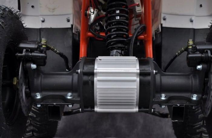 ATV HUMMER ELECTRIC 1000W #ROTI 8 INCH / AUTOMAT 7